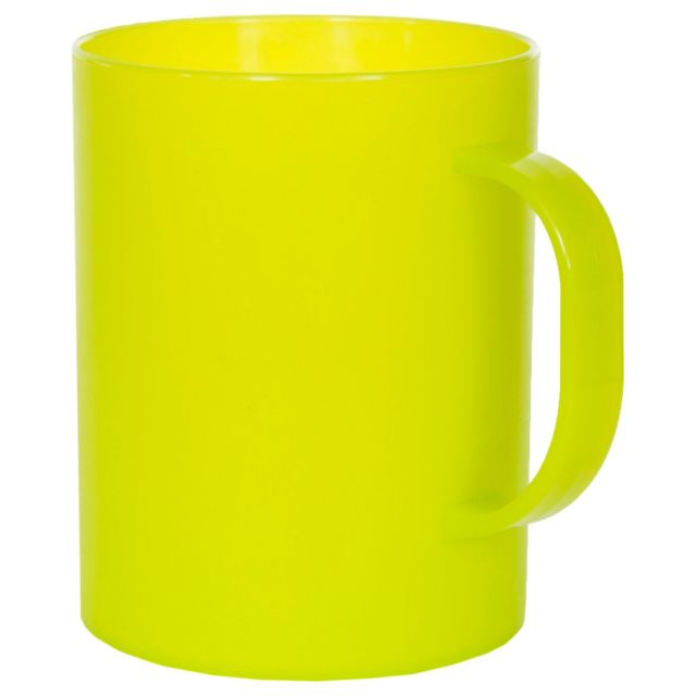POUR Plastic 400ml Cup in Neon Green