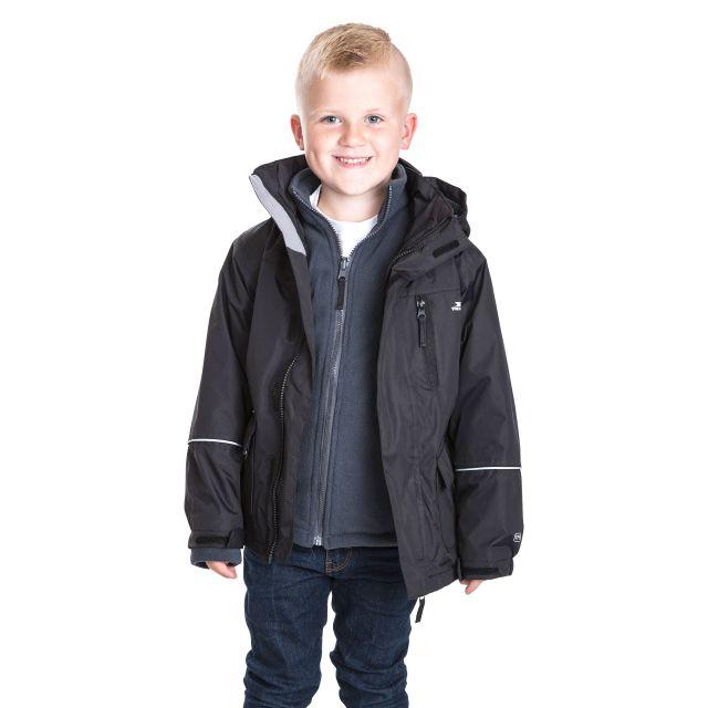 Prime II Kids' 3-in-1 Waterproof Jacket with Inner Fleece