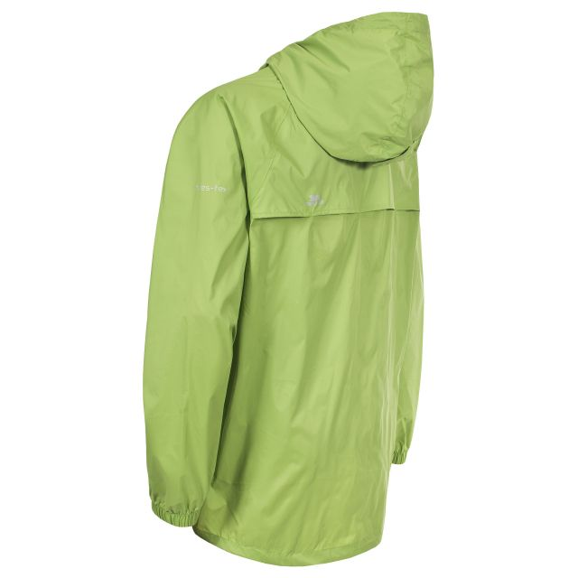 Qikpac Unisex Waterproof Packaway Jacket in Green