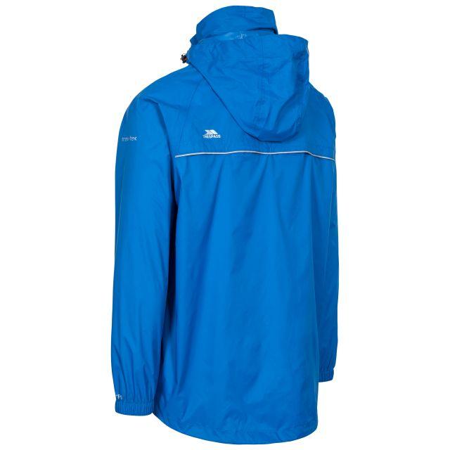 Qikpac X Adults' Waterproof Packaway Jacket in Blue