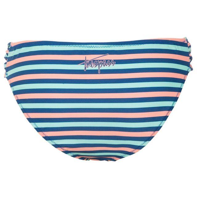 Raffles Women's Printed Bikini Bottoms in Blue