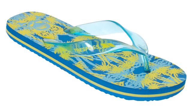 Raider Kids' Flip Flops in Teal