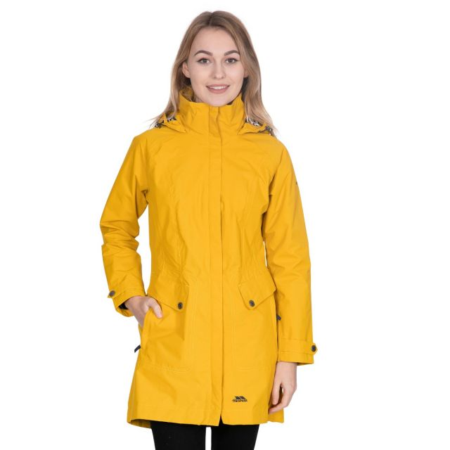 Rainy Day Women's Waterproof Jacket in Yellow
