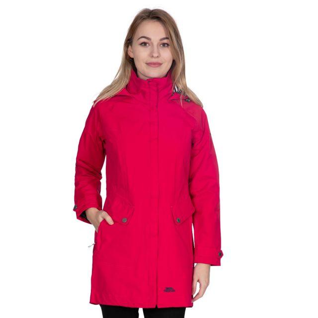 Rainy Day Women's Waterproof Jacket in Red