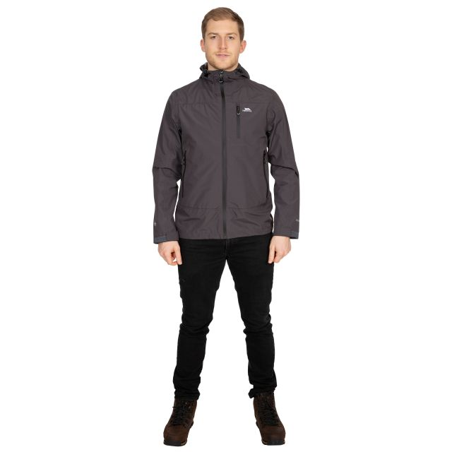 Rakenfard Men's Waterproof Jacket in Grey