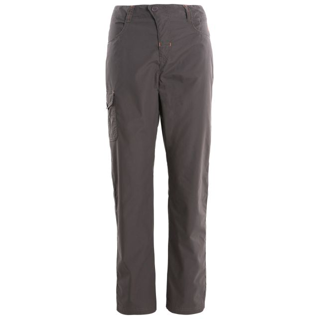 Rambler Women's Water Repellent Cargo Trousers in Grey