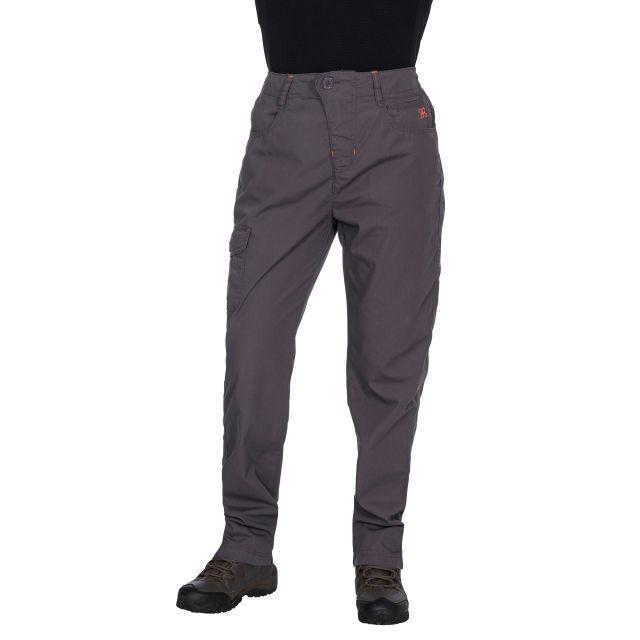 Rambler Women's Water Repellent Cargo Trousers in Grey