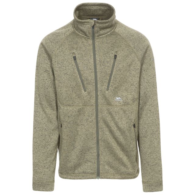 Ramp Men's Fleece Jacket in Khaki