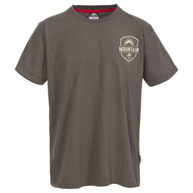 Rawhider Men's Printed Casual T-Shirt  in Khaki