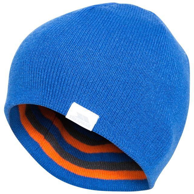 Reagan Kids' Reversible Beanie Hat in Blue