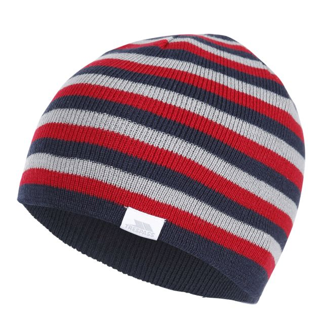 Reagan Kids' Reversible Beanie Hat in Navy
