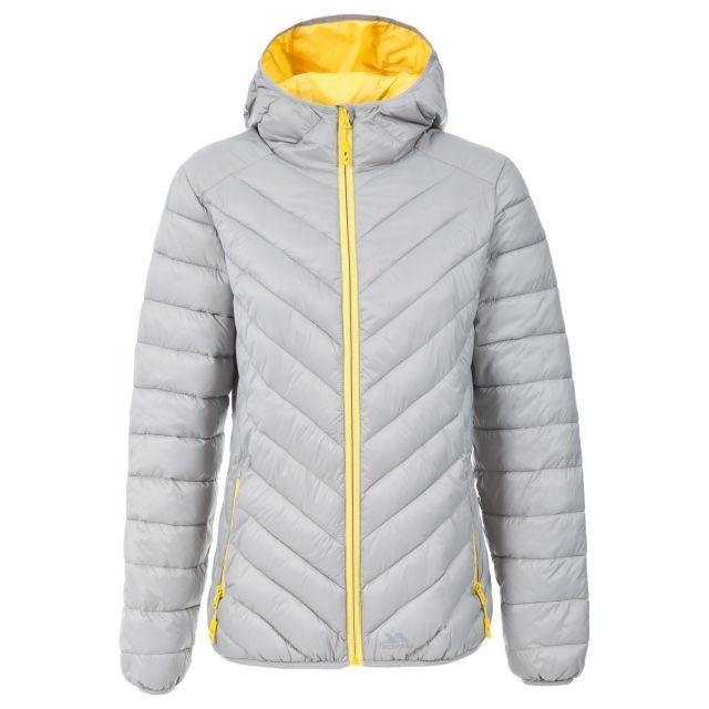 Release Women's Lightweight Padded Casual Jacket in Light Grey