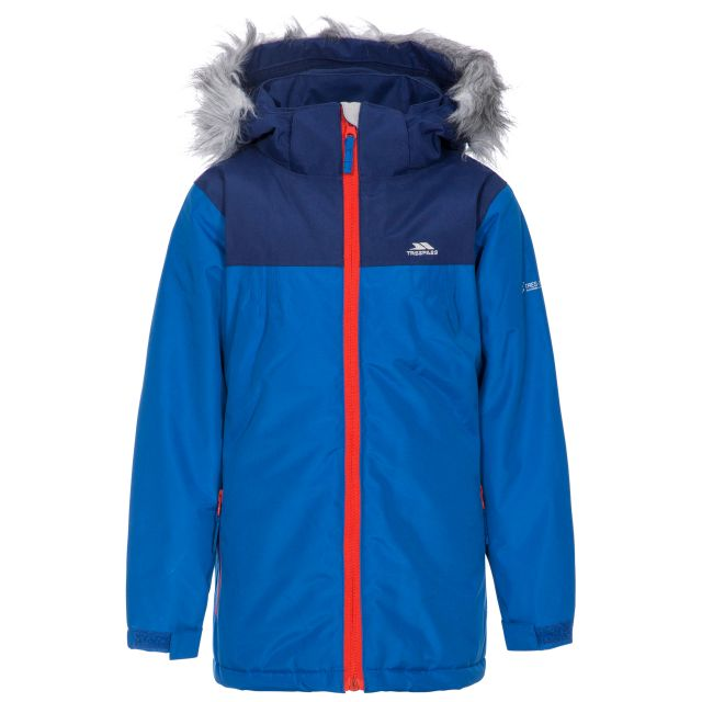 Renee Kids' Padded Waterproof Jacket in Blue
