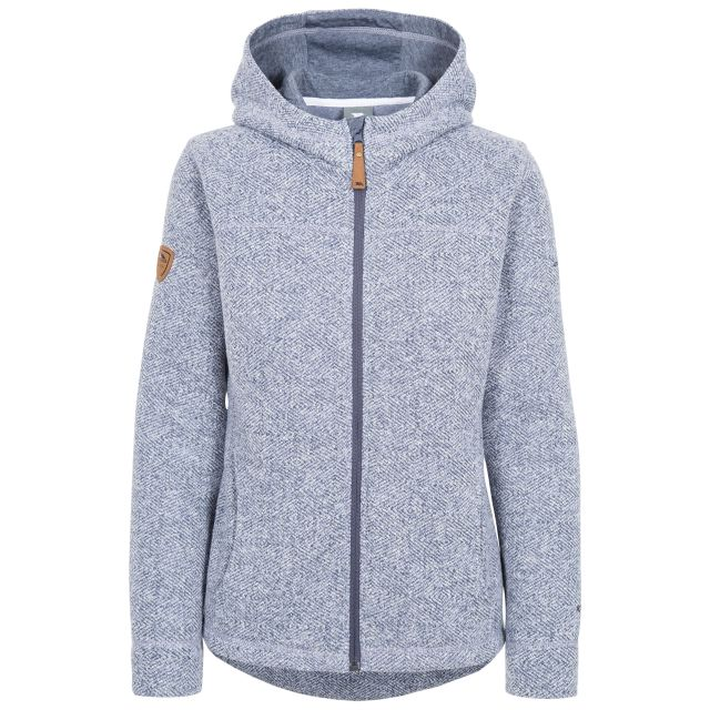 Reserve Women's Fleece Hoodie in Blue
