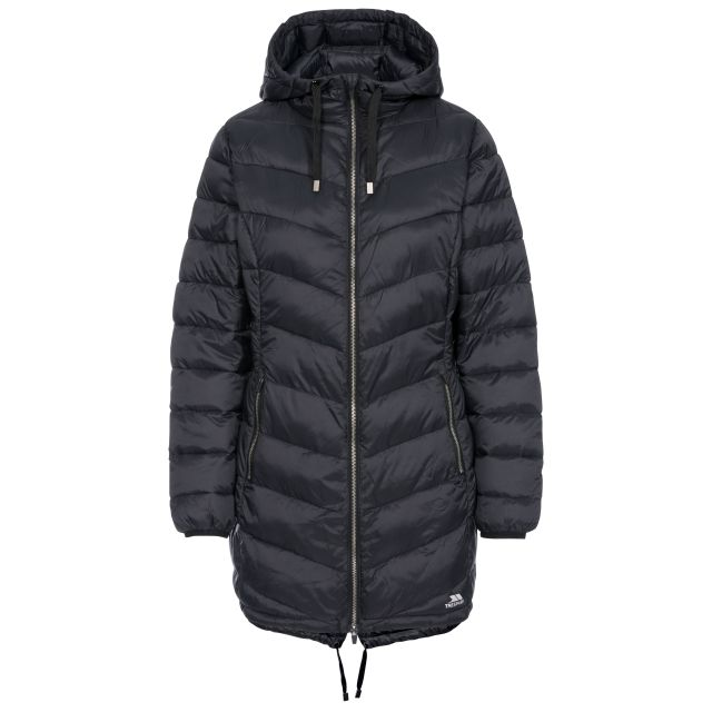 Rianna Women's Padded Casual Jacket in Black