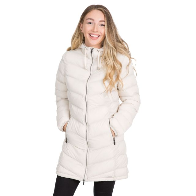 Rianna Women's Padded Casual Jacket in Tan