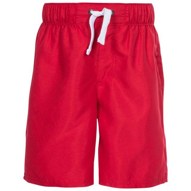 Riccardo Kids' Swim Shorts in Red