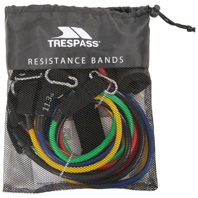 Trespass Resistance Band Kit Ripped Multi, Front view