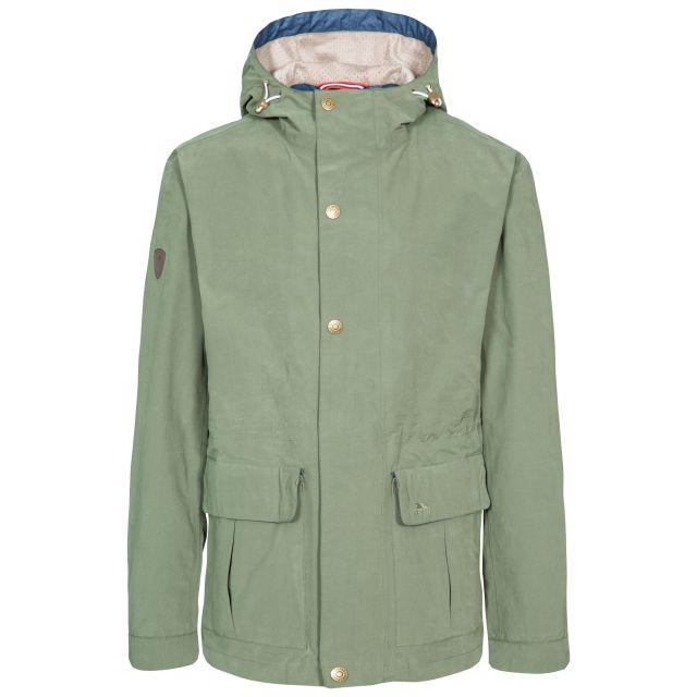 Riverbank Men's Casual Waterproof Jacket in Green