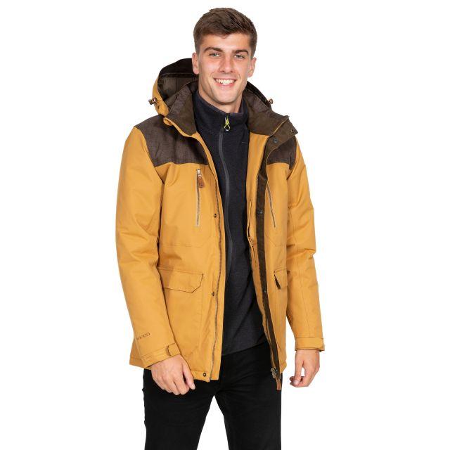 Rockwell Men's DLX Breathable Waterproof Jacket in Beige