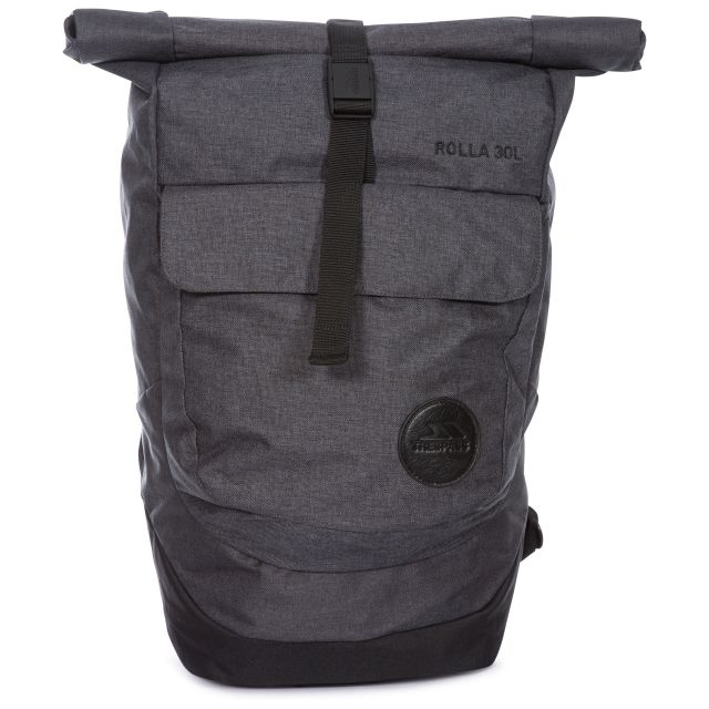Rolla 30L Rolltop Laptop Backpack, Front view