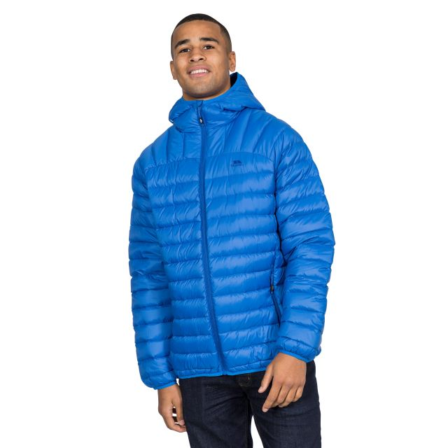 Romano Men's Down Packaway Jacket in Blue