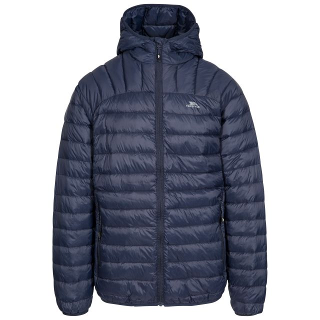 Romano Men's Down Packaway Jacket in Navy