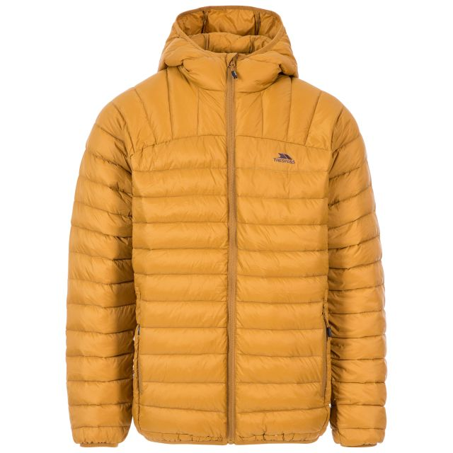 Romano Men's Down Packaway Jacket in Beige