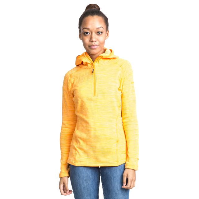 Romina Women's Hooded Fleece in Orange