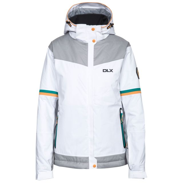 Rosan Women's DLX Waterproof Ski Jacket in White