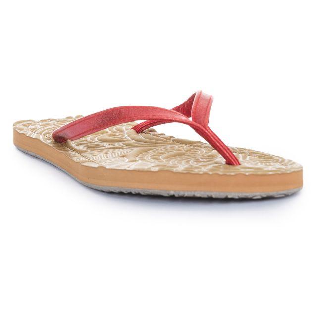 Roslyn Women's Flip Flops in Pink