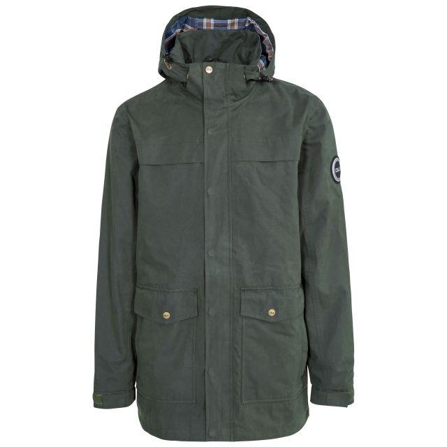Rowland Men's DLX Casual Waterproof Jacket in Khaki