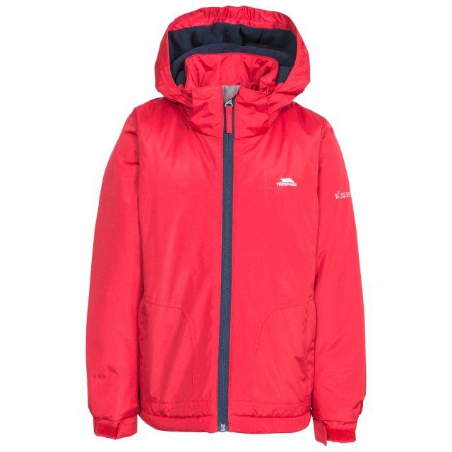 Rudi Boys' Waterproof Jacket in Red