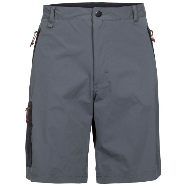 Runnel Men's Cargo Shorts in Grey