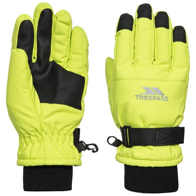 Ruri II Kids' Ski Gloves in Green