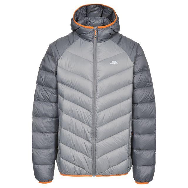 Rusler Men's Hooded Down Jacket  in Grey