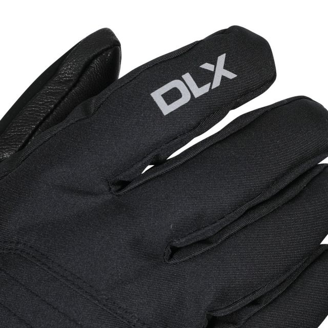 Rutger Unisex DLX Waterproof Gloves in Black