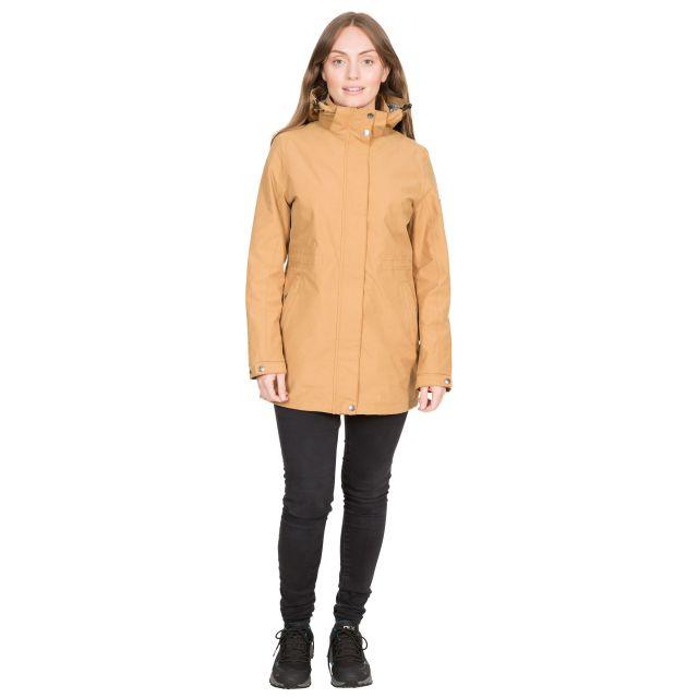 Sabine Women's DLX Waterproof Jacket in Beige