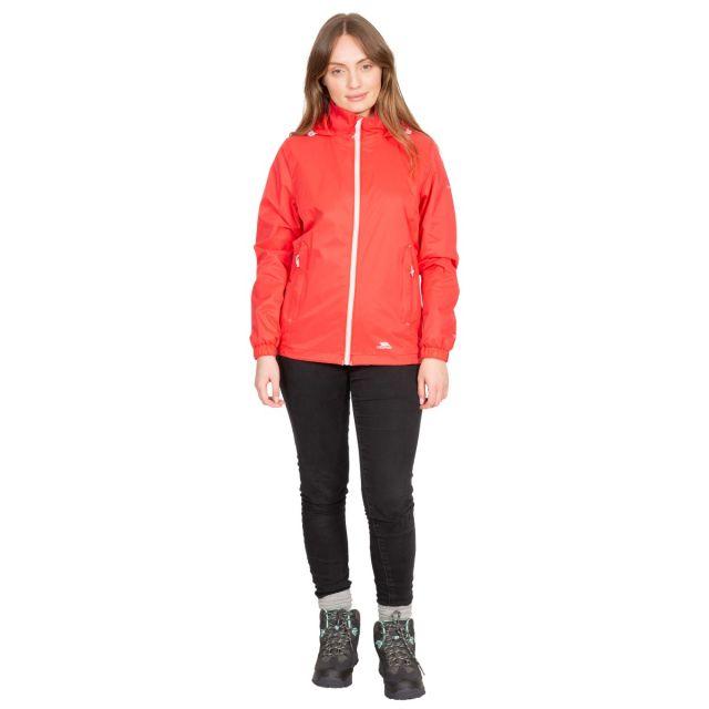 Sabrina Women's Waterproof Jacket in Red
