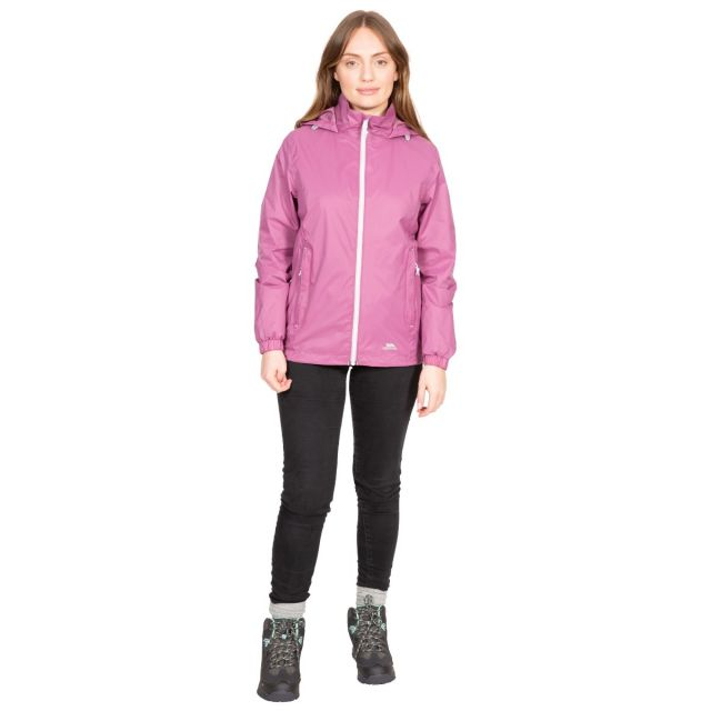 Sabrina Women's Waterproof Jacket in Purple