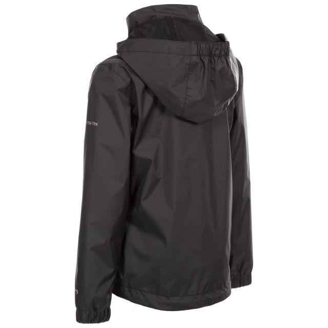 Trespass Kids Jacket TP75 in Black Sabrina