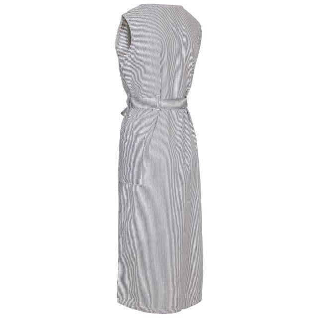 Trespass Women's Mid Length Dress Sally Navy Stripe