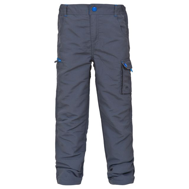 Sampson Kids' Thermal Cargo Trousers in Grey