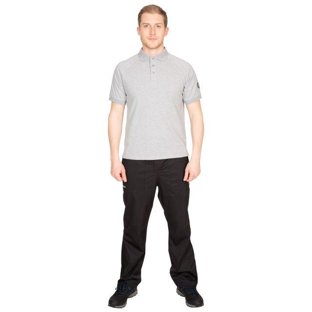 Sanderson Men's DLX Polo Shirt in Light Grey
