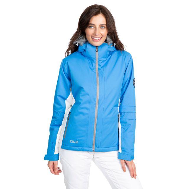 Sandrine Women's DLX Waterproof RECCO Ski Jacket in Blue