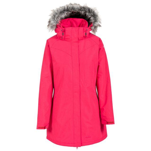 San Fran Women's Waterproof Parka Jacket in Pink