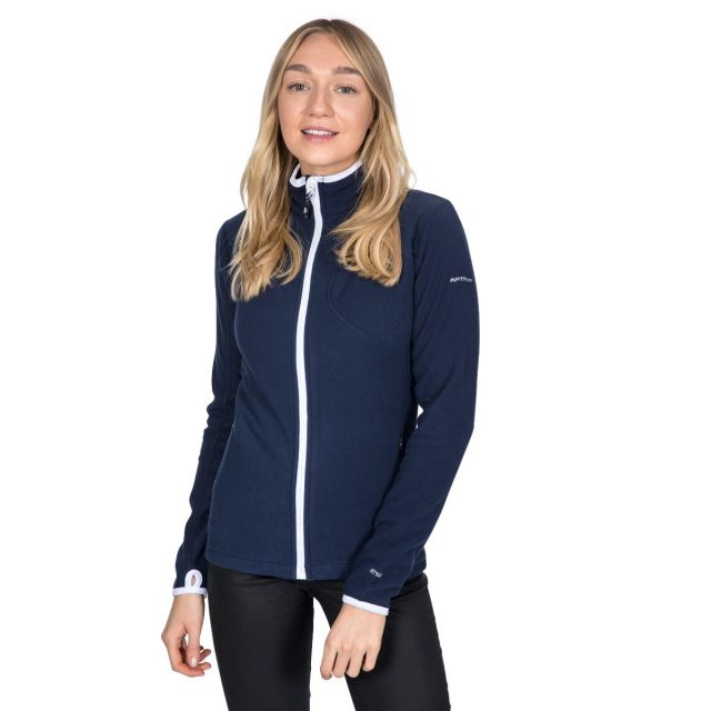 Saskia Women's Microfleece in Navy