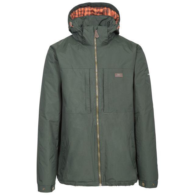 Savio Men's Insulated Windproof Waterproof Jacket in Khaki