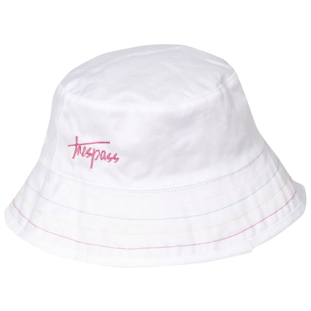Seashore Babies' Reversible Bucket Hat in Pink