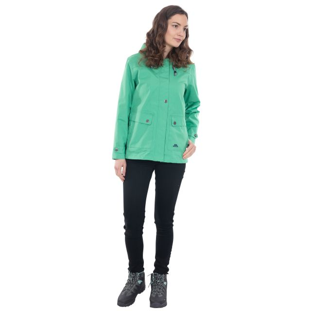 Seawater Women's Waterproof Jacket in Green